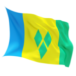 saint_vincent_and_the_grenadines_fluttering_flag_256